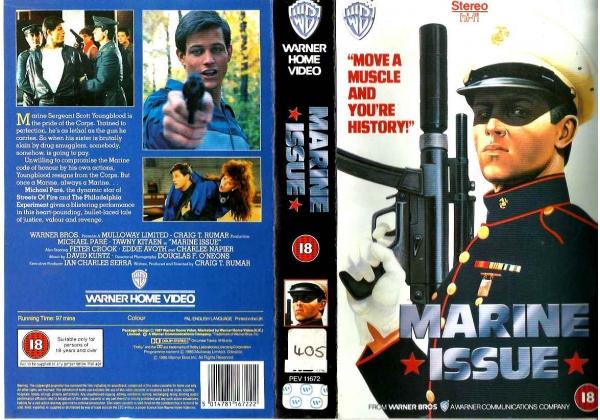 Marine Issue (1986)on Warner Home Video (United Kingdom Betamax ...