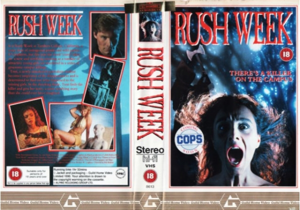 Image result for rush week vhs uk cover